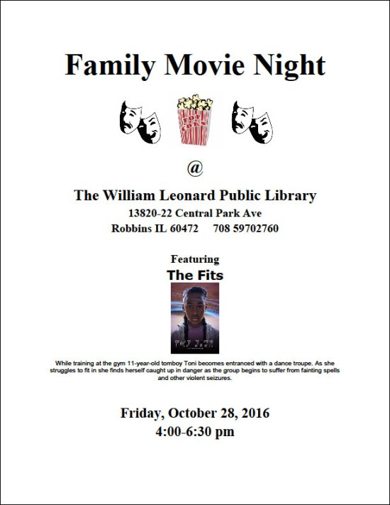 Family movie night oct-28-2016